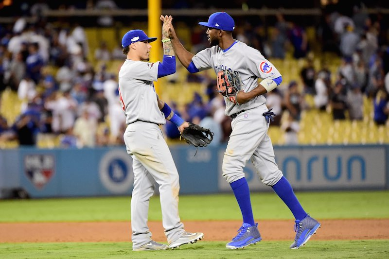 Dexter Fowler con Cubs