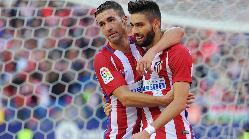 El Atlético de Madrid es el líder de la liga