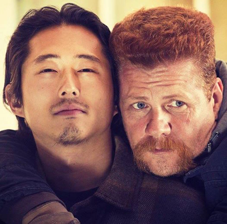 Abraham y Glenn - The Walking Dead