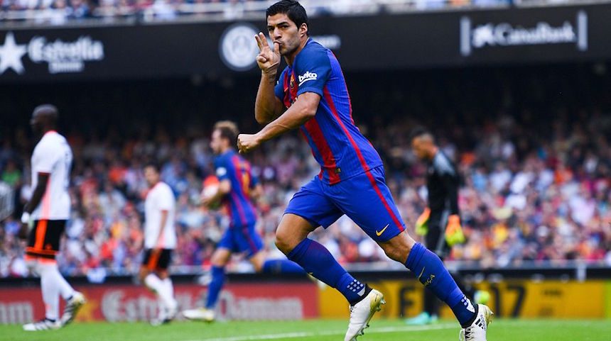 Luis Suárez logró el empate