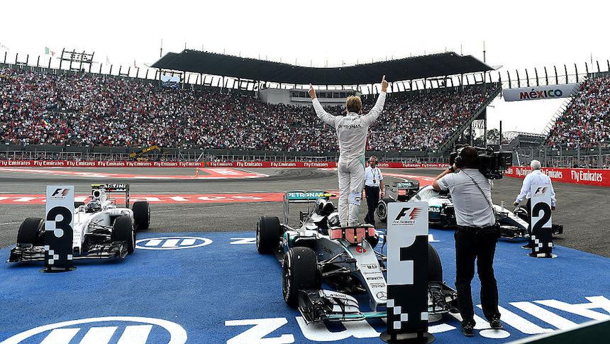 Aquí está el calendario de actividades del Gran Premio de México