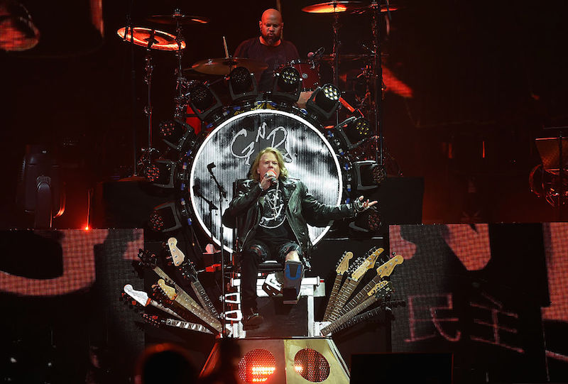 ¡Guns N' Roses anuncia segunda fecha en el Palacio de los Deportes!