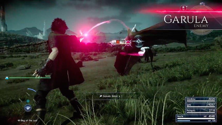 Final Fantasy XV Hechizo de la Muerte 2