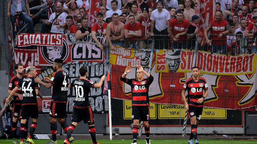 Javier Hernández ma metido muchos goles con el Leverkusen