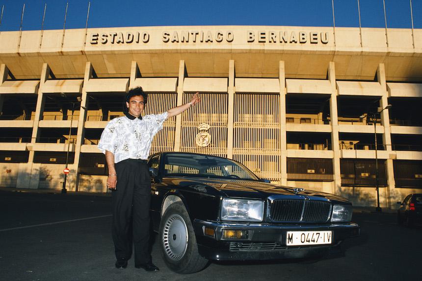 Hugo Sánchez fue importante en la historia del Real Madrid