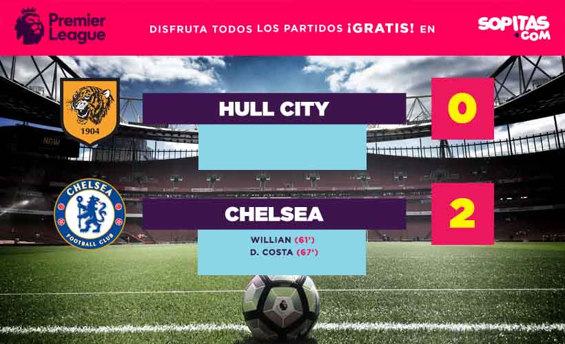 Hull City perdió cero dos contra el Chelsea
