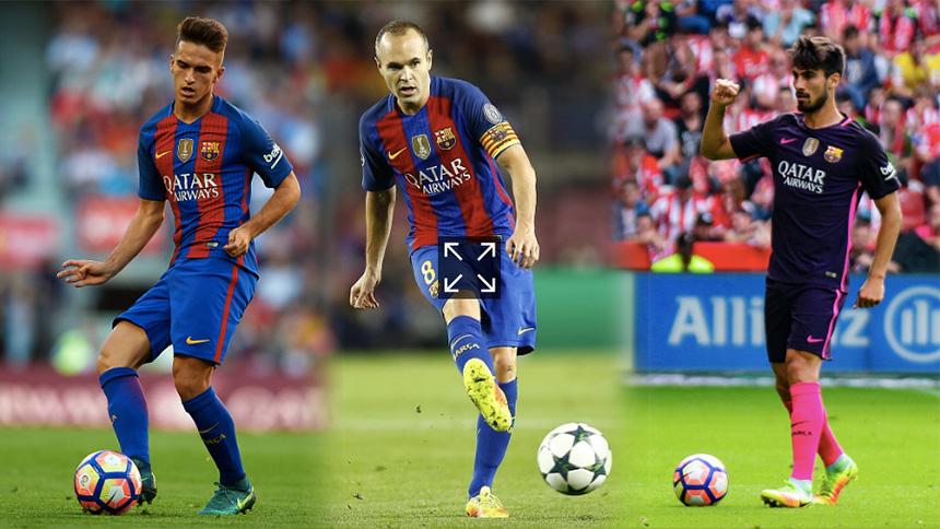 Los posibles sustitutos de Andrés Iniesta en el Barcelona