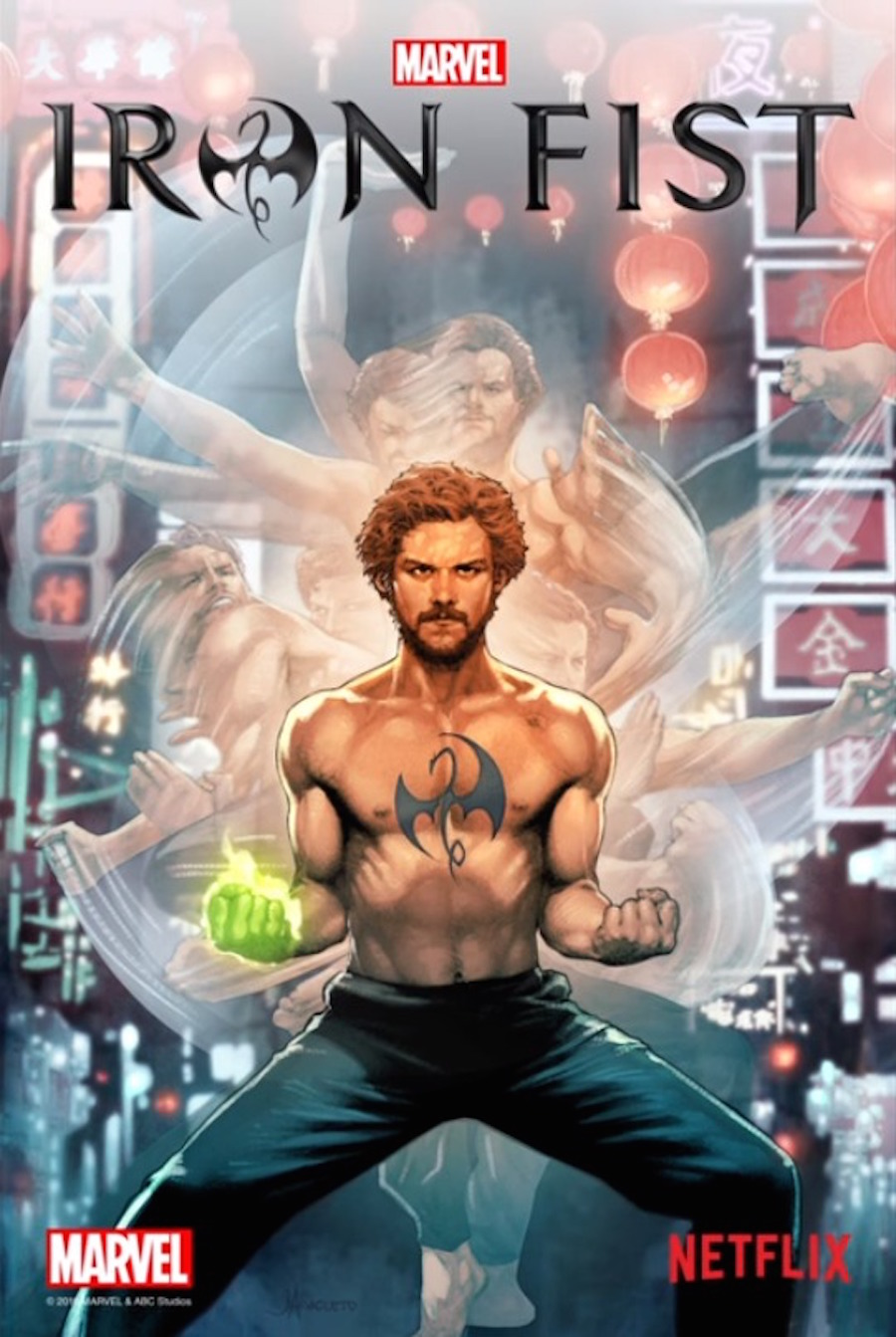 Iron Fist - Portada