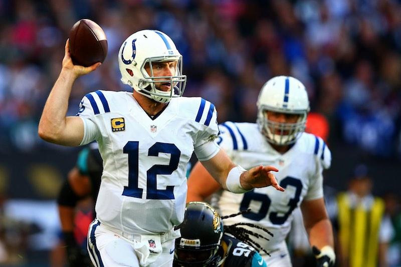 Indianapolis Colts versus Jacksonville Jaguars