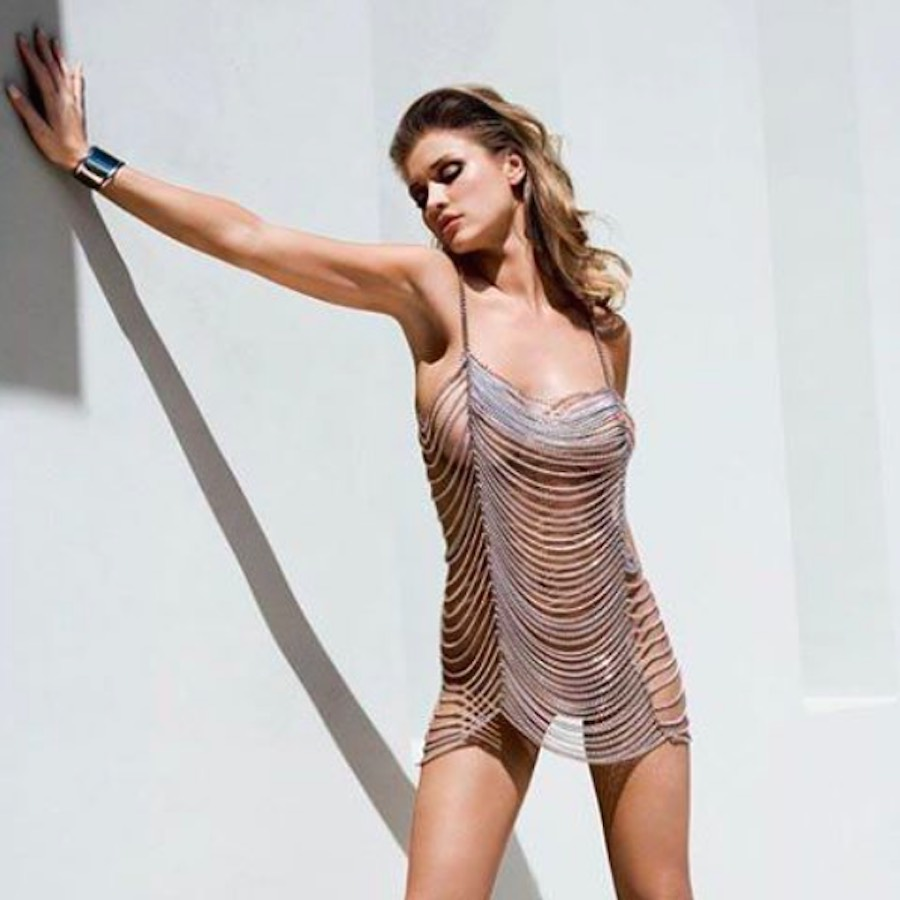 La sensual modelo Joanna Kruppa