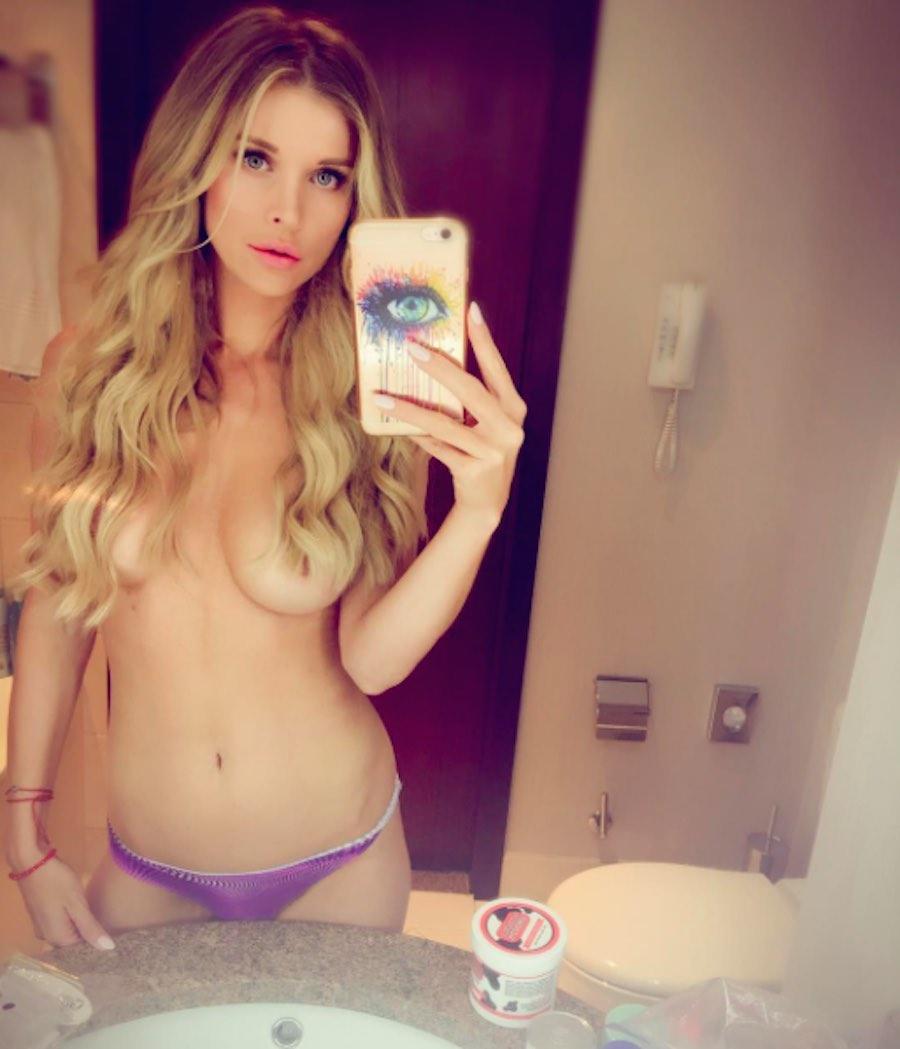 La sensual selfie de Joanna Krupa
