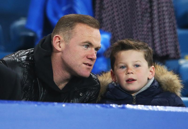 Kai Rooney con Rooney