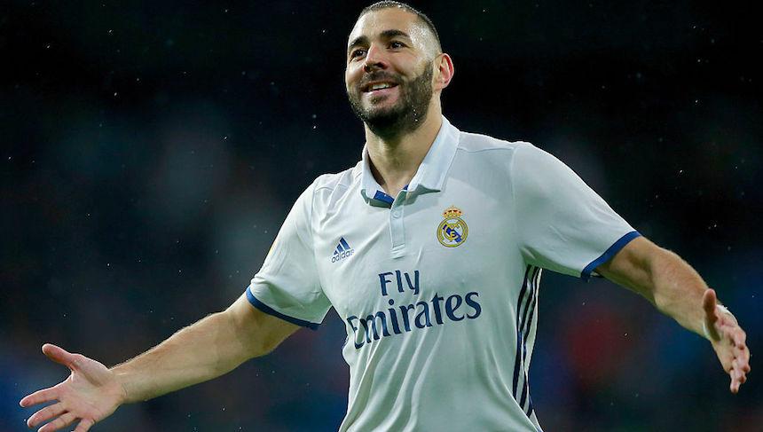 Karim Benzema puso el 1-0 contra el Bilbao