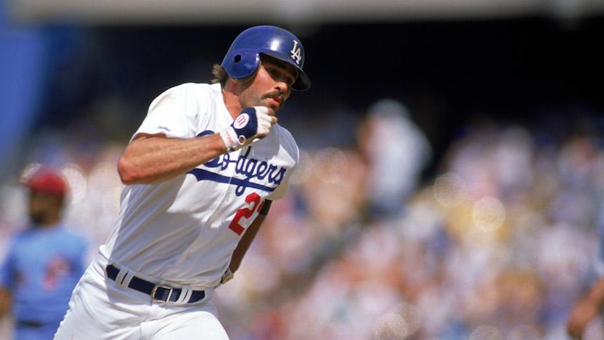 Kirk Gibson siempre fue pieza clave para los Dodgers