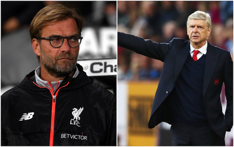 Klopp y Wenger