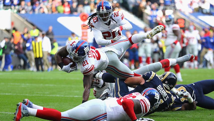 Landon Collins consiguió un bonito touchdown