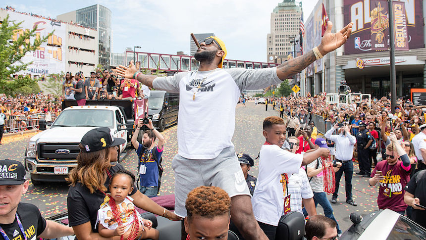 Hacen realidad deseo de LeBron: habrá helado para los aficionados de Cleveland