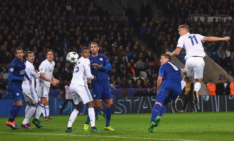 Leicester contra Copenhague