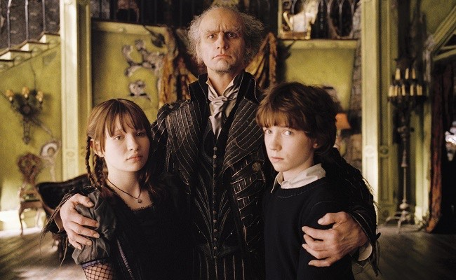 Lemony Snicket Jim Carey