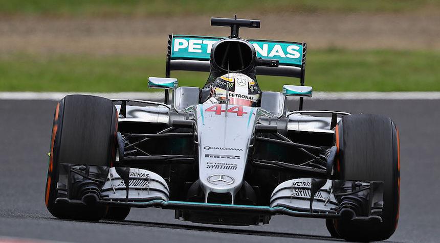 Lewis Hamilton tiene el mejor tiempo en el primer día de prácticas.