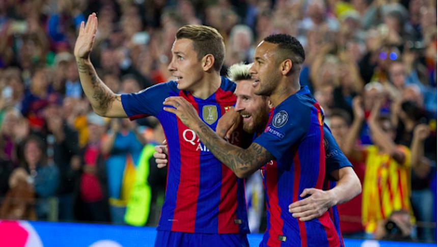 Con hat trick de Messi, Barcelona venció al Manchester City