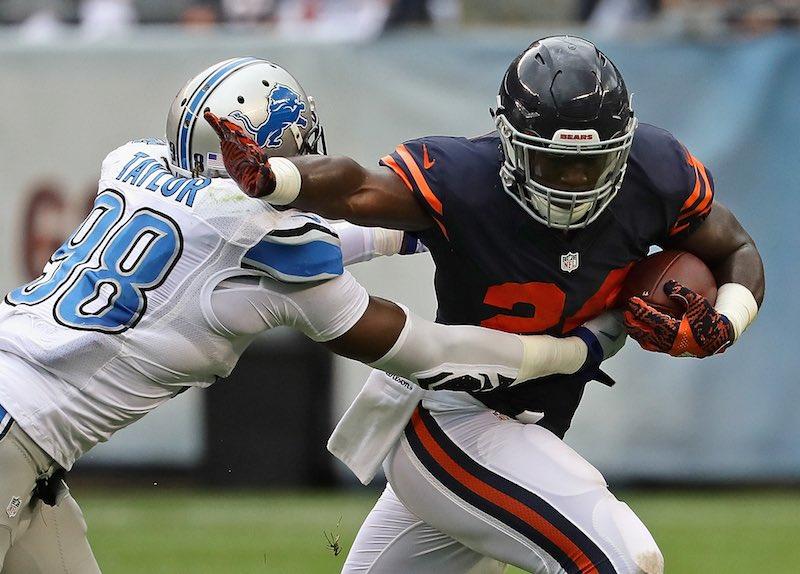 Detroit Lions versus Chicago Bears