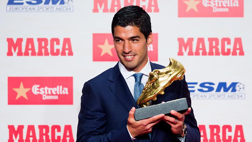 Estos son los 40 goles que le dieron la Bota de Oro a Luis Suárez