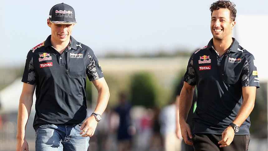 Red Bull llega al Gran Premio de México