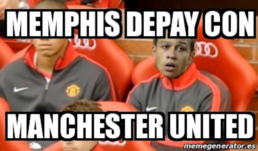 Memphis Depay meme