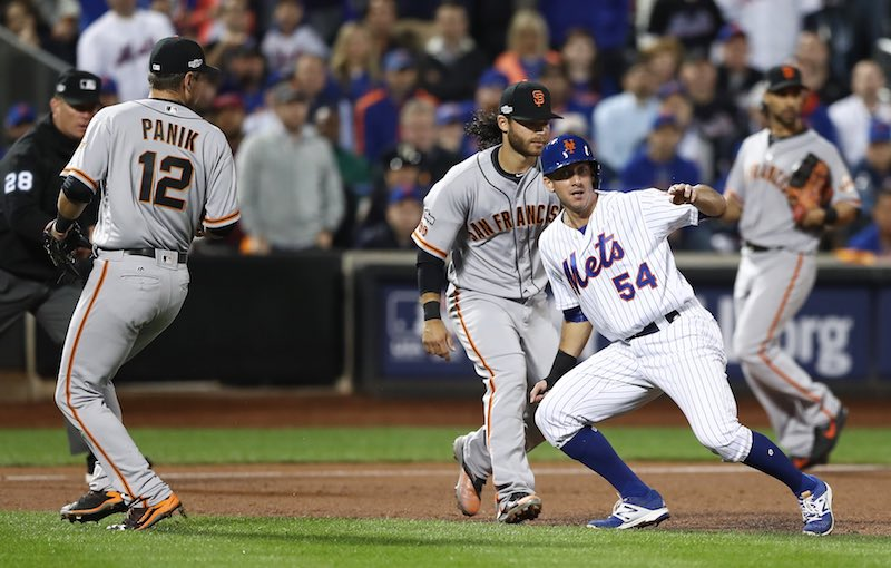 San Francisco Giants versus New York Mets