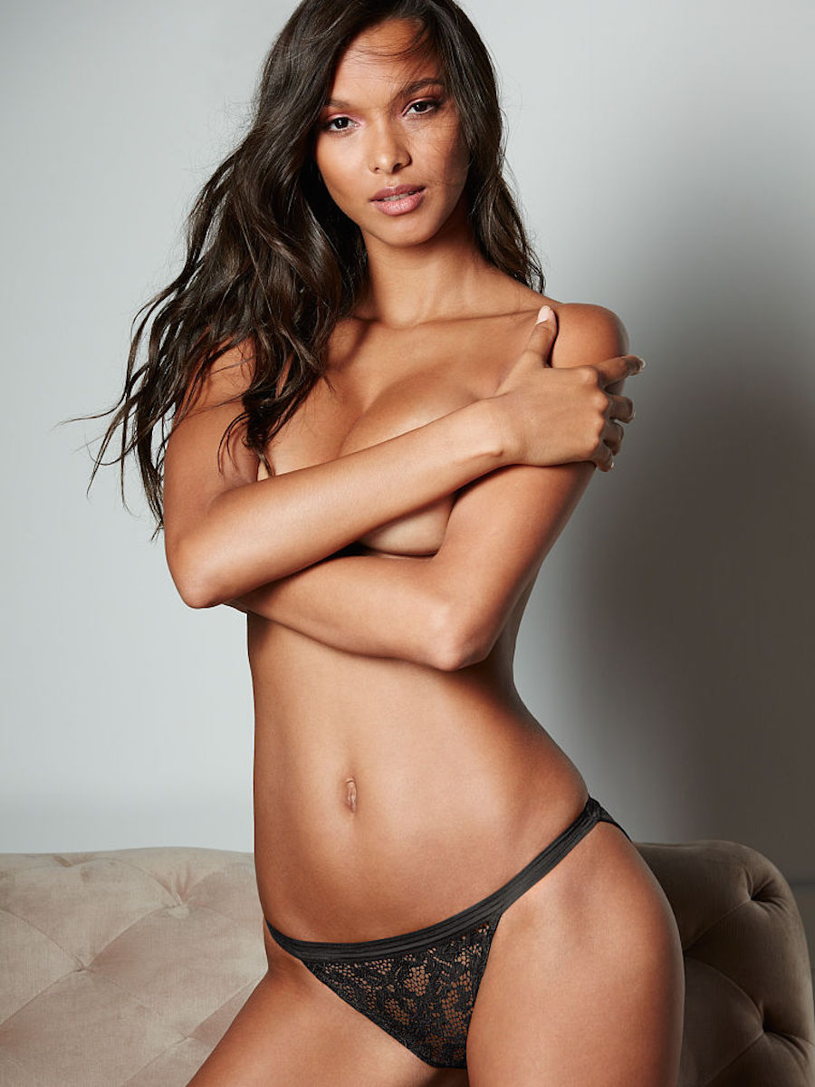 Modelo de Victoria Secret - Topless