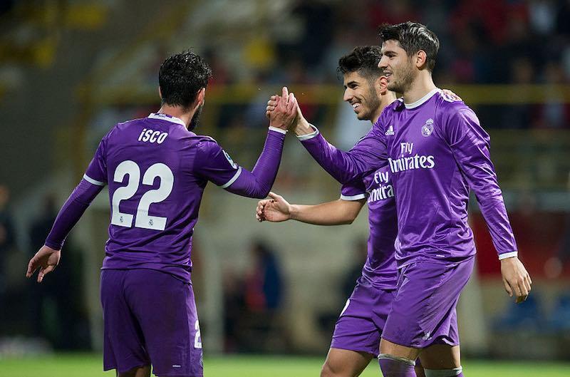 Real Madrid consigue sin dificultad medio boleto a octavos de la Copa del Rey