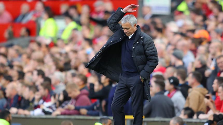 Chelsea golea al Manchester United en el regreso de Mourinho a Stamford Bridge