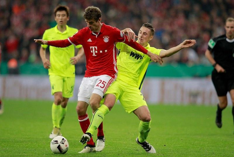 Müller con Bayern Münich