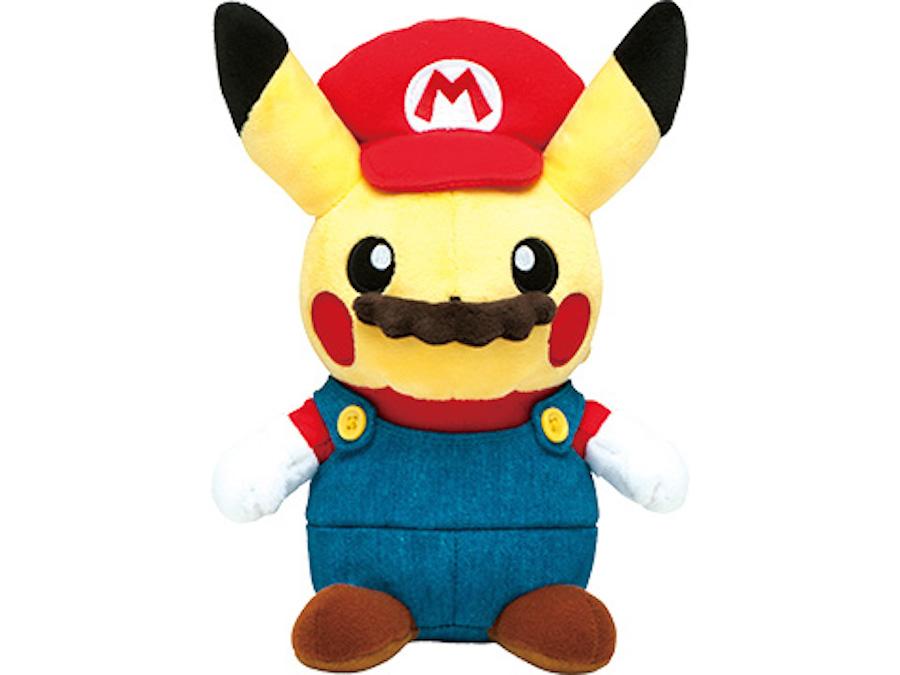 Muñeco de Mario Pikachu