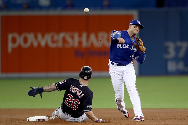 Napoli se barre a Blue Jays
