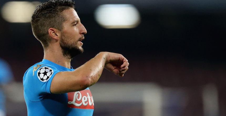 El Napoli está jugando muy bien en la Champions