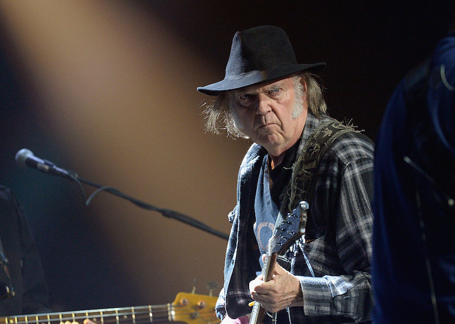 "Neil Young anuncia su nuevo disco ""Peace Trail"""