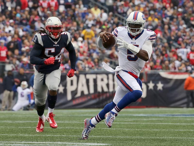 Buffalo Bills versus New England Patriots