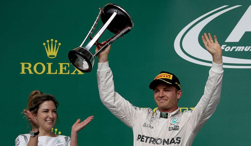 Nico Rosberg puede quedar campeón en México