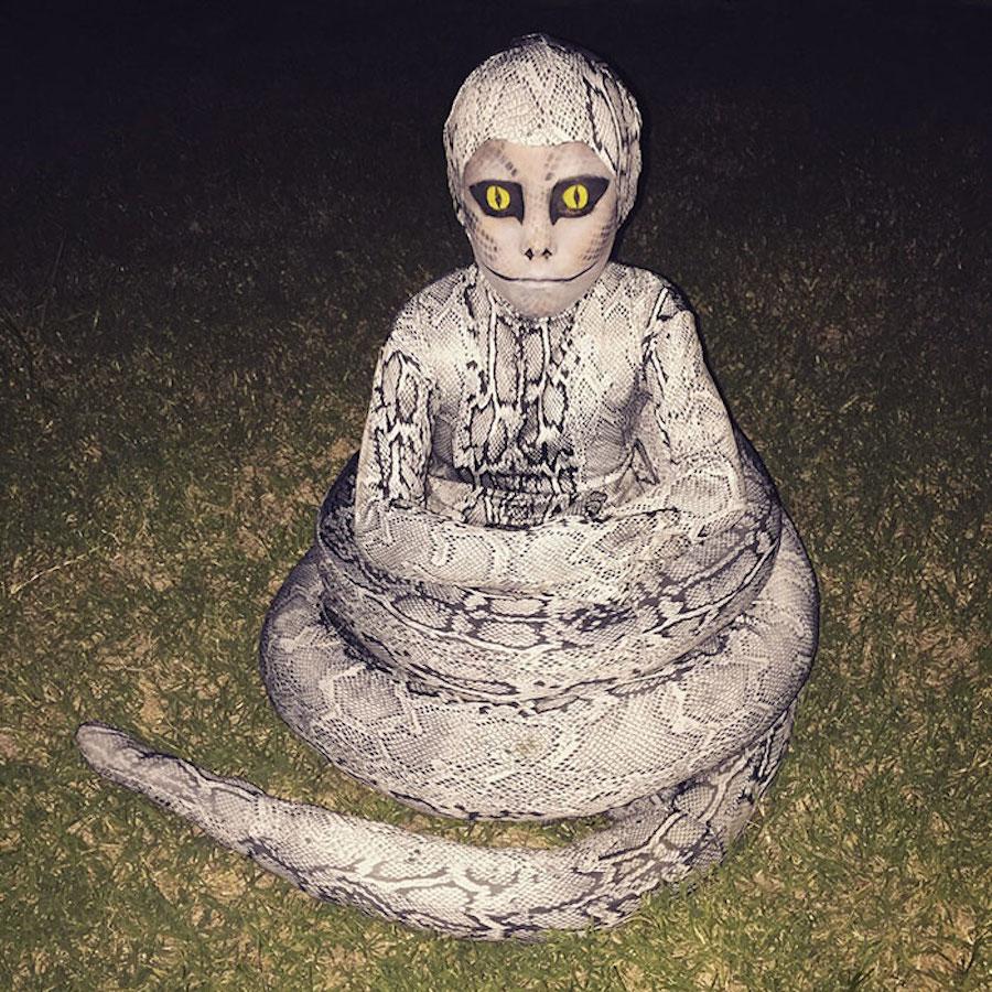 Disfraz de serpiente