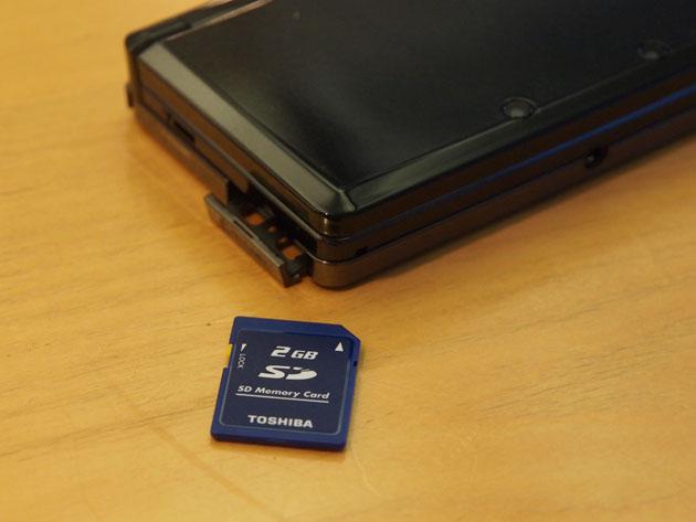 Nintendo 3DS Memoria SD
