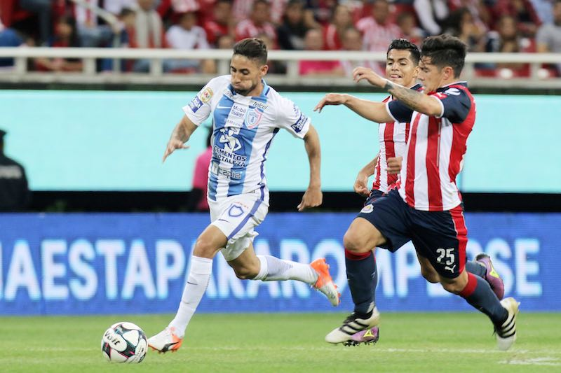 Pachuca contra Chivas