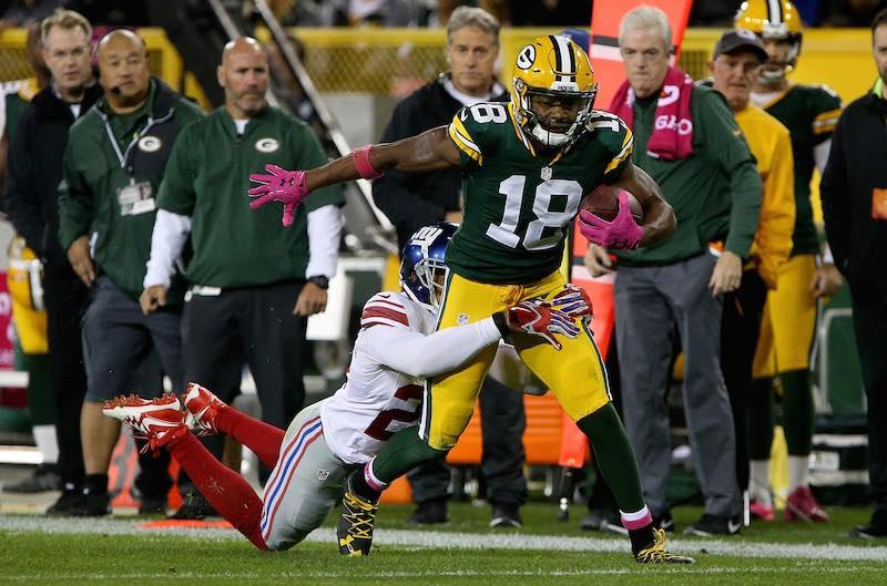Packers versus Giants semana cinco