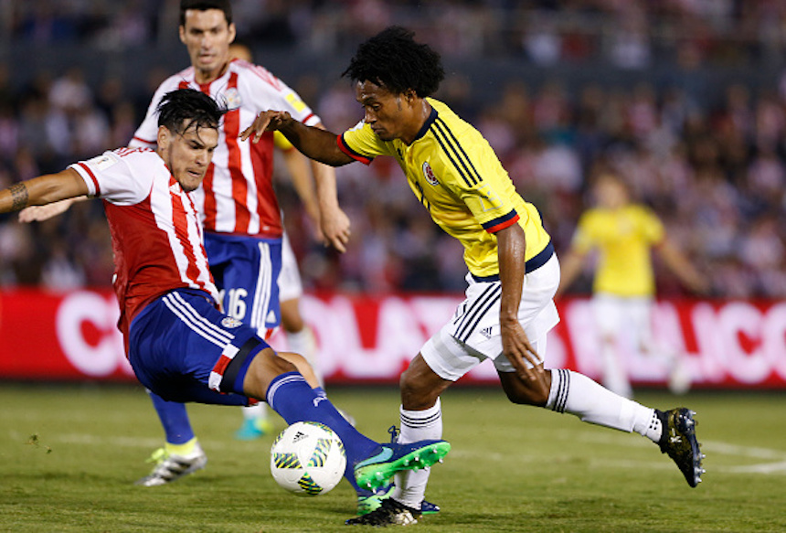 Paraguay v Colombia - FIFA 2018 World Cup Qualifiers