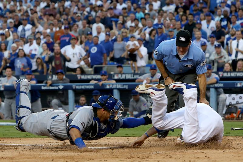 Paretido Dodgers contra Cubs