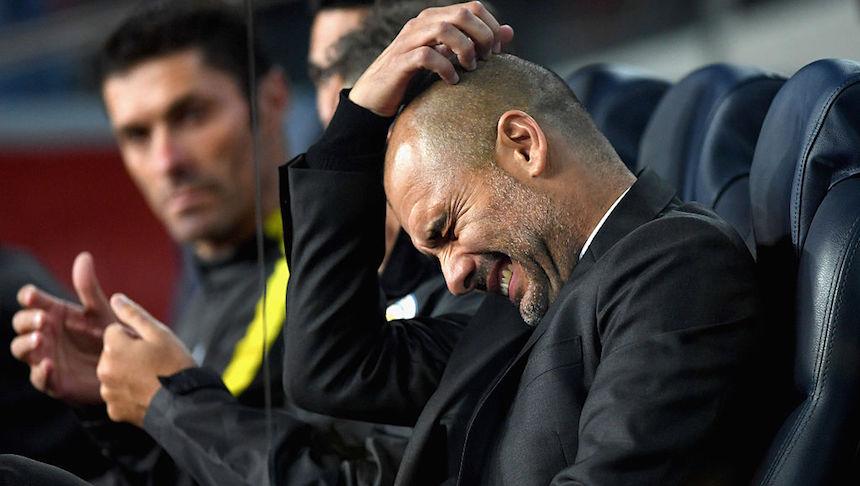 Pep Guardiola aclaró que no tiene problemas con nadie