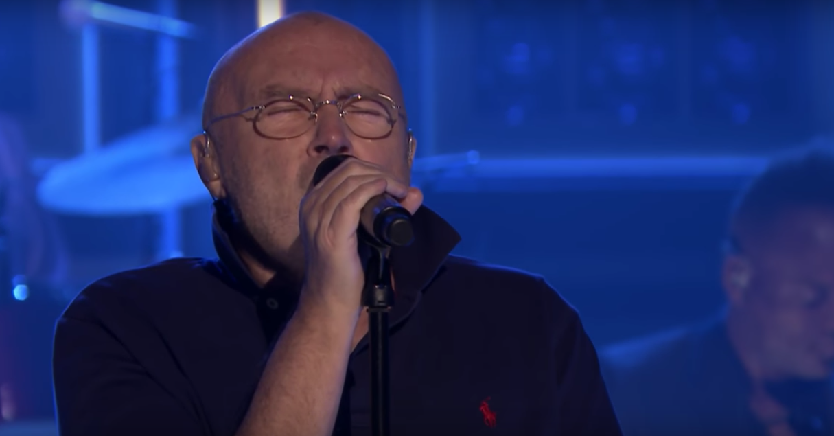 El grandioso regreso de Phil Collins en el programa de Jimmy Fallon