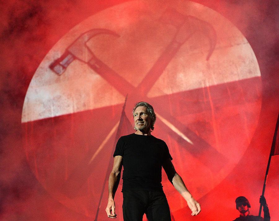 Sigan en vivo el montaje del show de Roger Waters en el Zócalo
