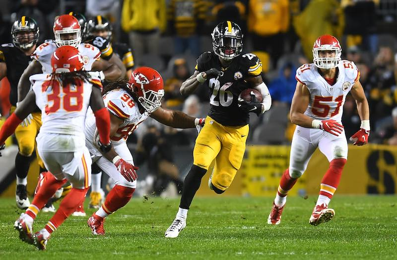 Kansas City Chiefs versus Pittsburgh Steelers